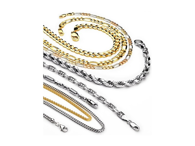 wedding gold jewelry chain bands glod chains
