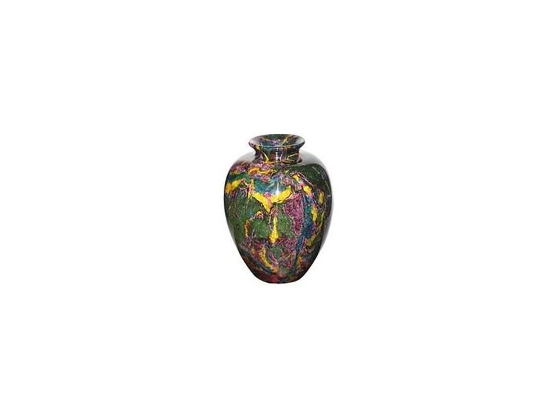 "17""x21"" Large Solid Jade Vase"