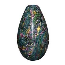"12.5""x17"" Large Solid Jade Vase"