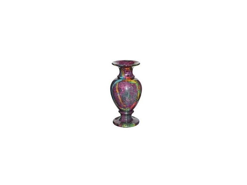 "8""x22"" Medium Solid Jade Vase"