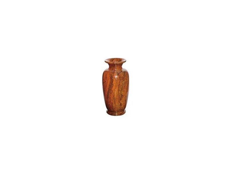 "6.5""x13"" Medium Solid Jade Vase"