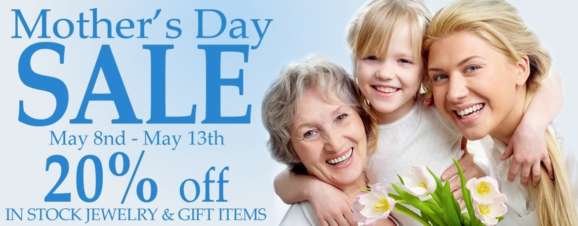 Just for Mom. Allison's Custom Jewelry Mother's Day Jewelry and Gift Sale