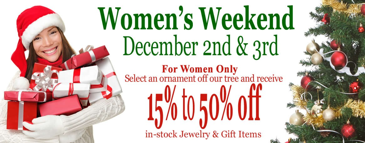 Women's Weekend Christmas Sale