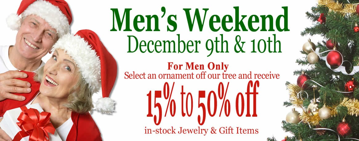 Men's Weekend Christmas Sale